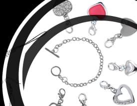 Bracelet Charm's Clips BijouxenVogue