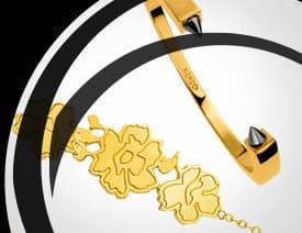 Bracelet Plaqué Or BijouxenVogue