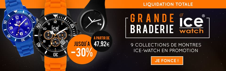 Collection montre homme Ice Watch