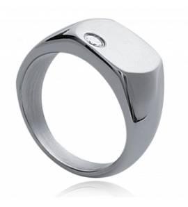 图章戒指 男士 不锈钢 Kronisos