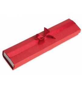 Écrin Bracelet Nœud rouge