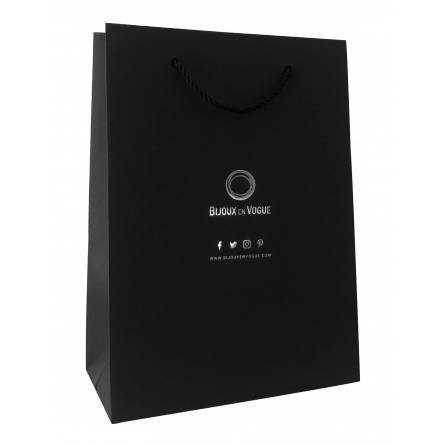 Écrin Grand sac Bijoux en Vogue noir