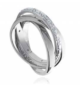 混合戒指 女士 银 Scellé
