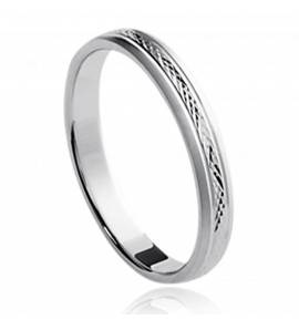 混合戒指 银 Vinciene 灰色