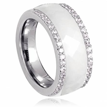 戒指 女士 银 Keala 白色