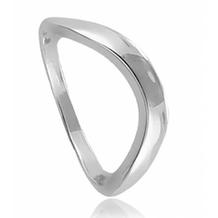 戒指 女士 银 Ondulée