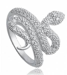 戒指 女士 银 Précieux 黑色