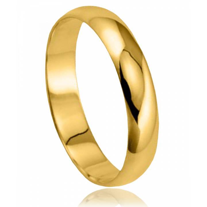 alliance homme & femme zvarte or jaune