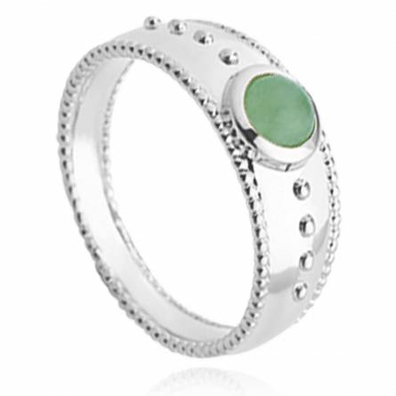 Anello donna argento Aaliyah verde