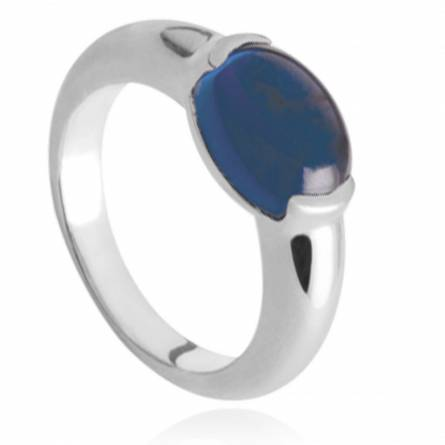 Anello donna argento Talia blu