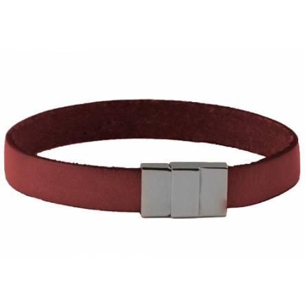 Armband frauen leder Tangi rosa