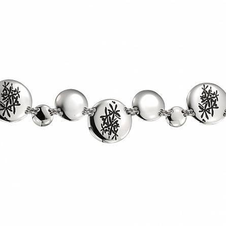 Armbanden dames roestvrijstaal Power design ballen