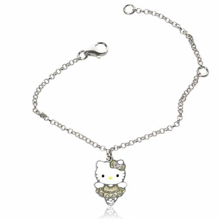 Armbanden kind roestvrijstaal Gold Cat