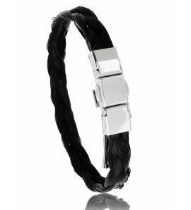 Armbanden paardenhaar zwart