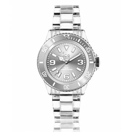 Armbanduhren frauen kunststoff ICE Pure grau