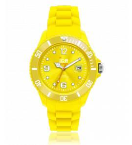 Armbanduhren frauen silikon Ice Forever gelb