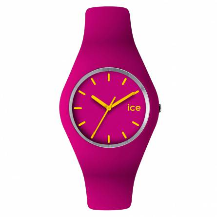 Armbanduhren frauen silikon ICE rosa