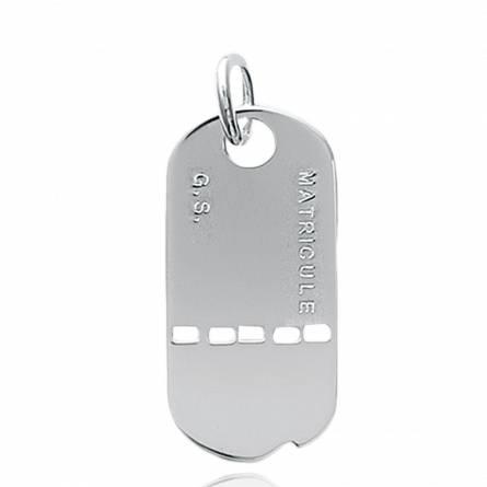 Army medal pendant