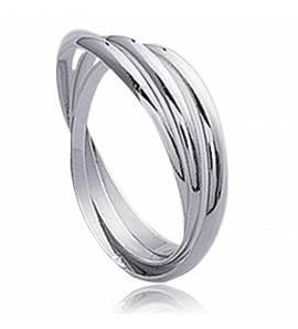 Bague Argent 3 anneaux