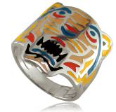 Bague argent Kenzo Hickory