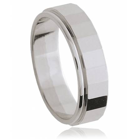 Bague argent Strate