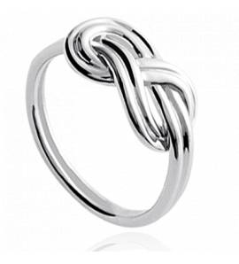 Bague femme argent Infinito infini