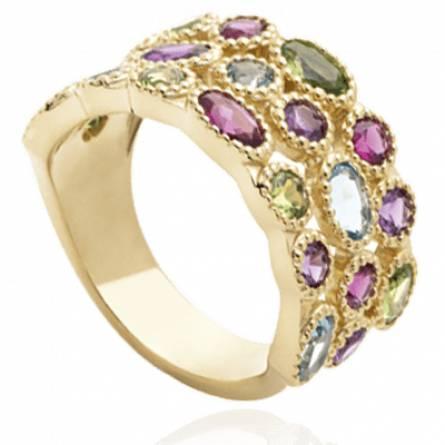 Bague femme pierre Alchimie  violet