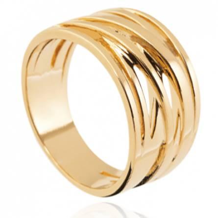 Bague femme plaqué or Anaiel