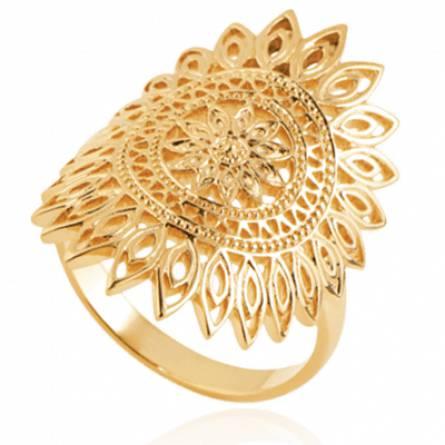 Bague femme plaqué or Andreadi