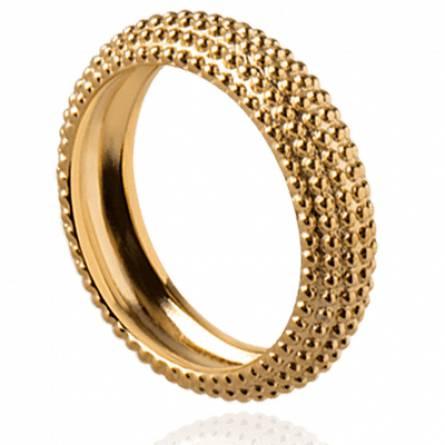 Bague femme plaqué or Argei