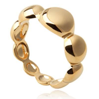 Bague femme plaqué or Efrat