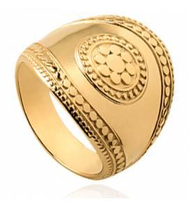 Bague femme plaqué or Empia