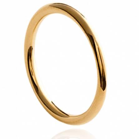 Bague femme plaqué or Osyna