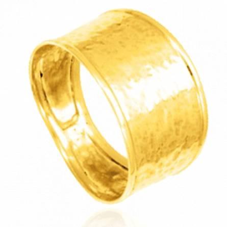 Bague femme plaqué or Sannya