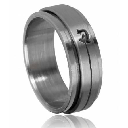 Bague homme anti-stress dauphin