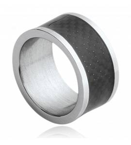 Bague homme carbone Zyad