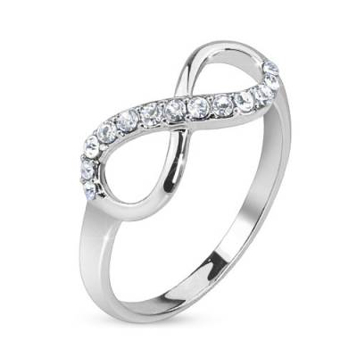 Bague Infinite Strass
