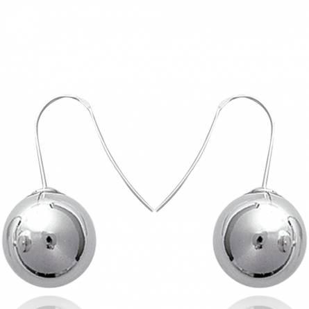 Boucles d'oreilles Boule 14mm