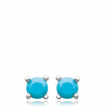 Boucles d'oreilles en argent Laly