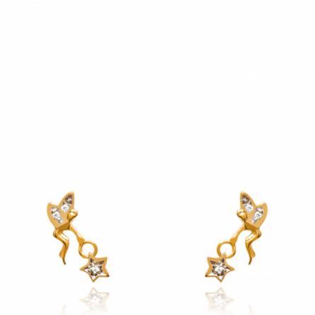 Boucles d'oreilles fée roma