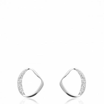 Boucles d'oreilles femme argent Abouram