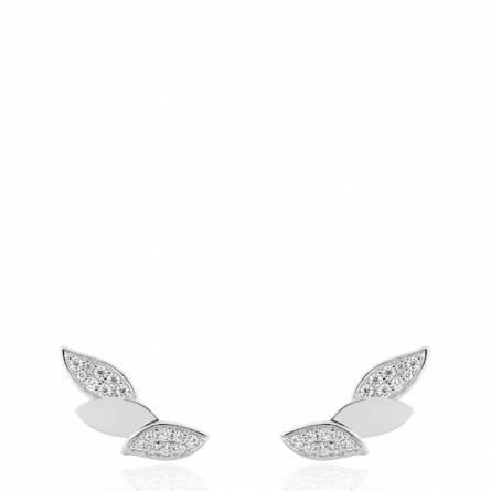 Boucles d'oreilles femme argent Adisia