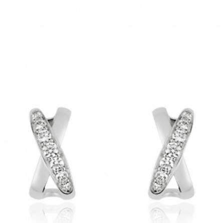 Boucles d'oreilles femme argent Adolia
