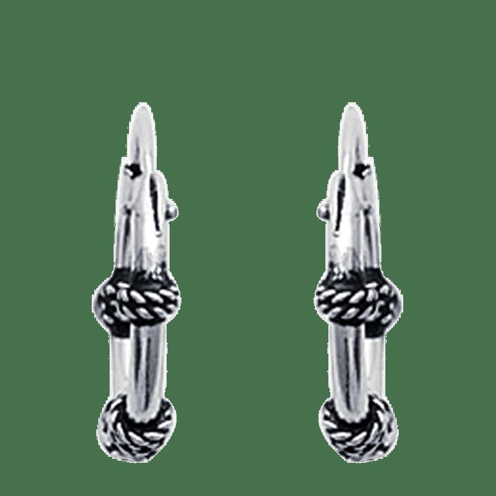 Créoles argent balinaises D