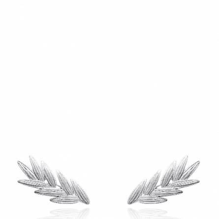 Boucles d'oreilles femme argent Donalita