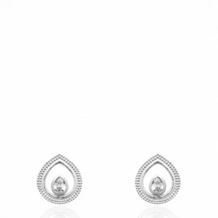 Boucles d'oreilles femme argent Itasia