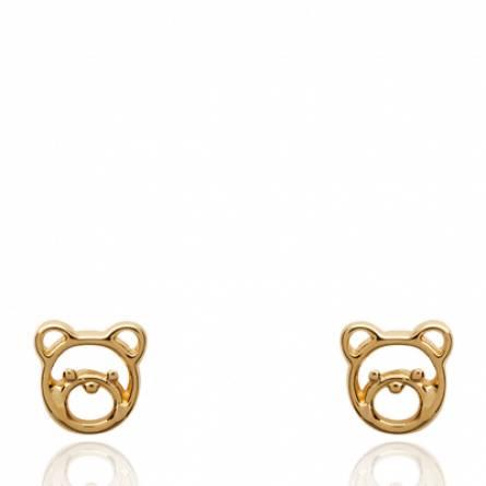 Boucles d'oreilles femme Little ours