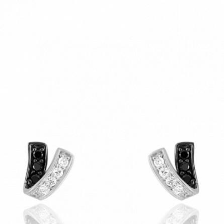 Boucles d'oreilles femme matiere or Clousa