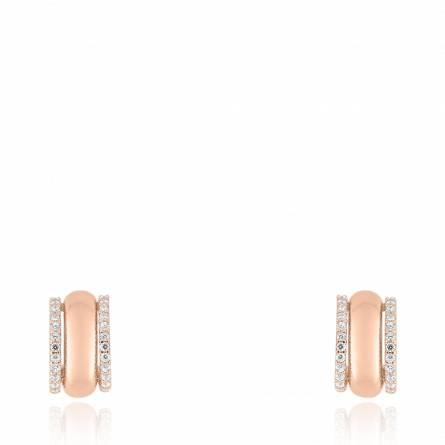 Boucles d'oreilles femme or Clamia