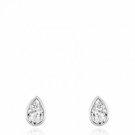 Boucles d'oreilles femme or Elotine